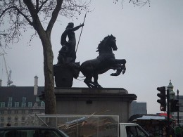Boudicca and chariot