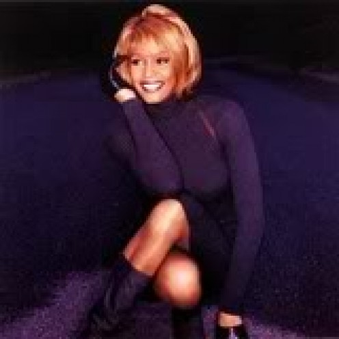 Whitney Houston, the religious singer turned pop powerhouse.
