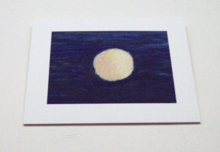 """Jocelyn Reese's """"Black Hole: Winter"""" - oil on paper, 2011."""