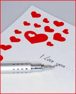 Love Note 'From Your Valentine'
