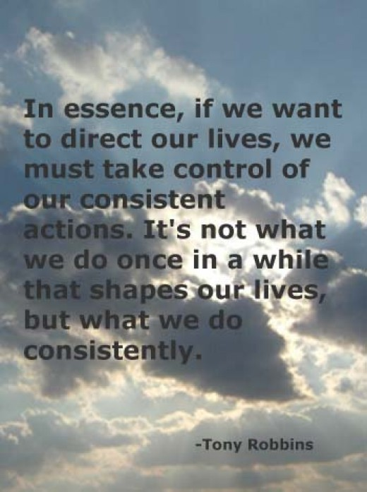 Tony Robbins Consistent Actions from ourPotential  Source: flickr.com