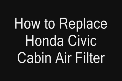 How To Replace Honda Civic Cabin Air Filter