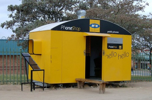 An MTN Mobile store.