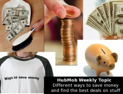 HubMob Weekly Topic: Different ways to save money