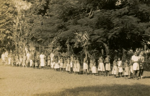 Palm Sunday Procession in PNG