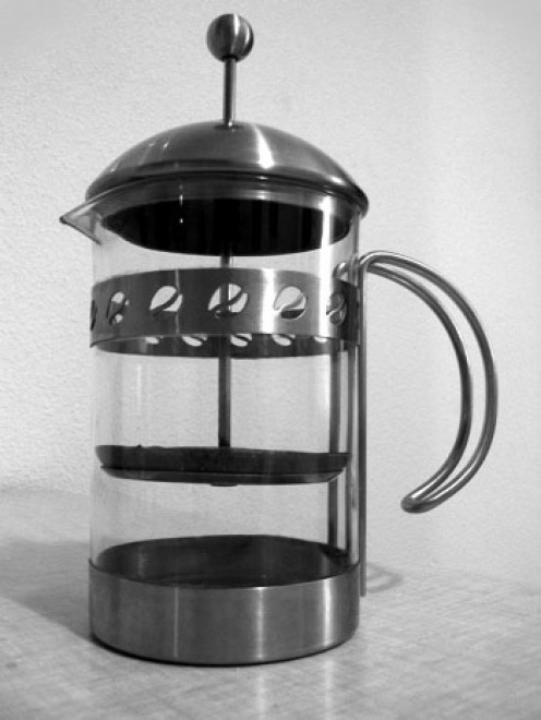 You can use a French press for purer tasting coffee.