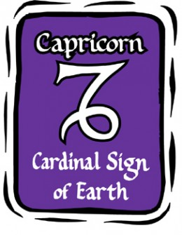 Earth is the element of Capricorn