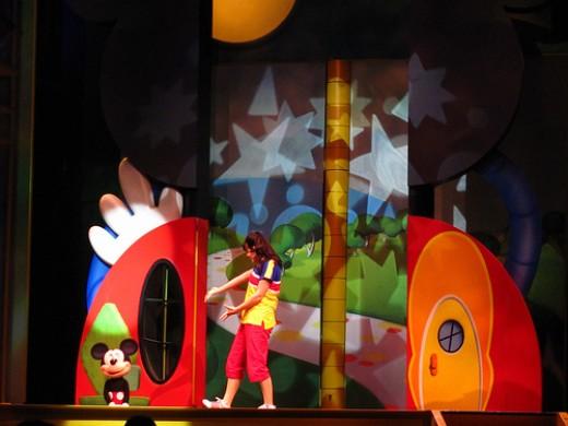 Disney Playhouse live on stage.