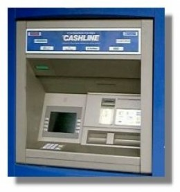 Strangly People often forget to take their cash from the machine.