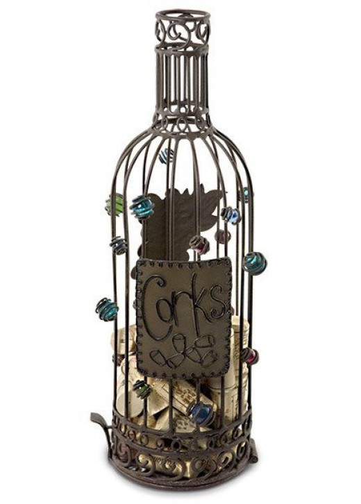 Wine Bottle Cork Cage by Epic Products