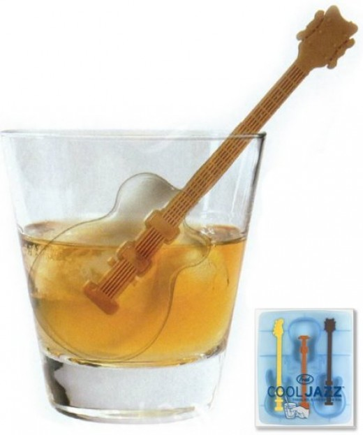 Fred Cool Jazz Ice Cube Tray by Fred