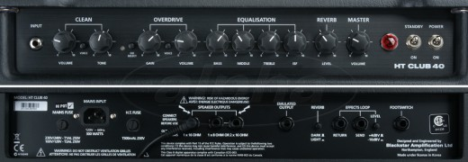 blackstar ht club 40 review the perfect 1x12 combo amplifier. Black Bedroom Furniture Sets. Home Design Ideas