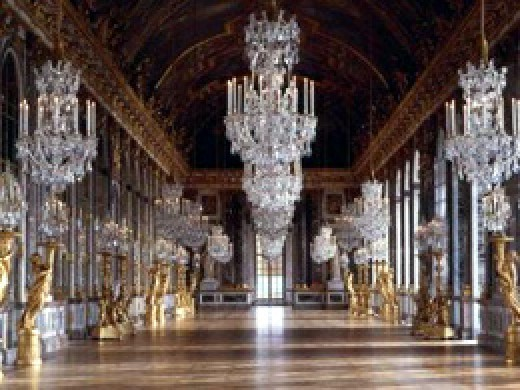 The impressive Palace at Versailles, once home to the French Monarchy. Its construction in the 17th Century almost bankrupted France.