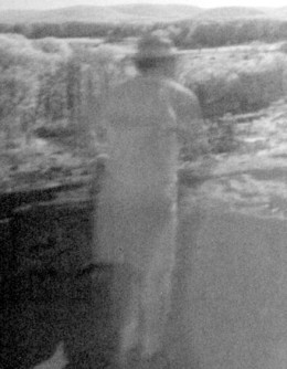 Taken at Gettysburg with daytime infrared technique.  This is not a living person.