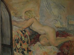 """Reclined Nude"" by Henri Lebasque (c1923). Museo Soumaya, founded by the richest man in the world, Carlos Slim Helu. Mexico City."