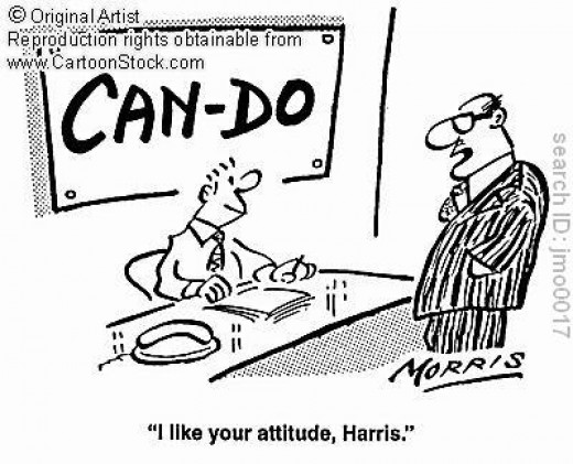 Anyone can be successful with the right attitude