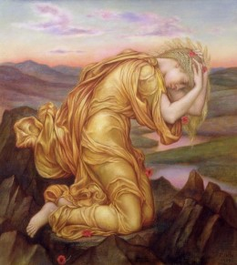 Demeter waiting for Persephone