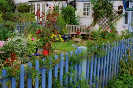 Seaside Garden, by *Susie*