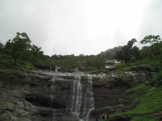 Waterfall at Matheran.