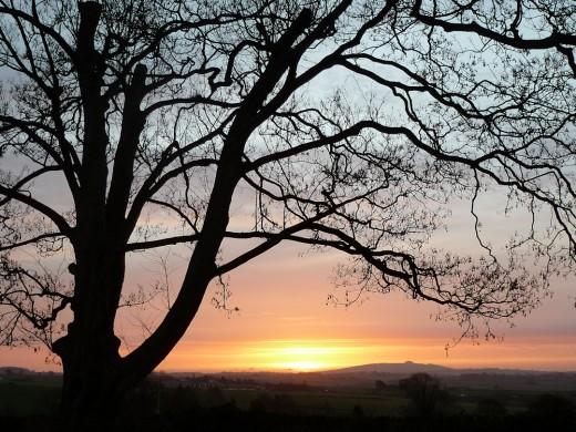 Sunrise on 14th February 2012
