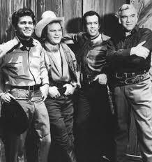 CAST OF BONANZA.