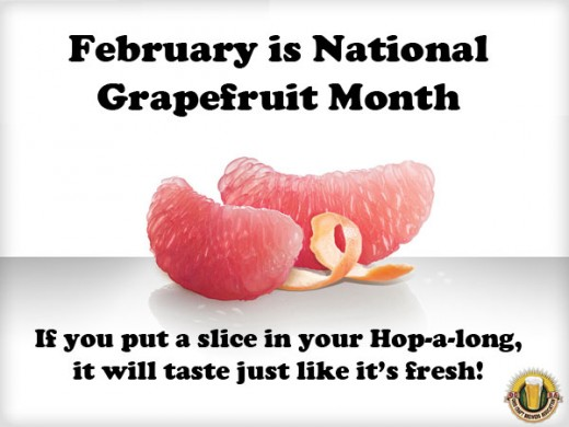 National Grapefruit Month