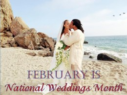 National Weddings Month