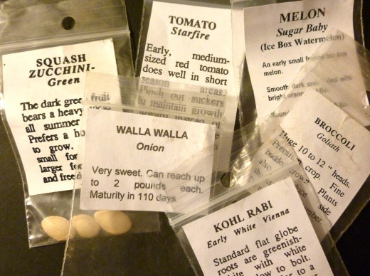 heritage seeds of all kinds is what you'll find