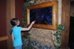 Playing MagiQuest at Great Wolf Lodge, Poconos, PA