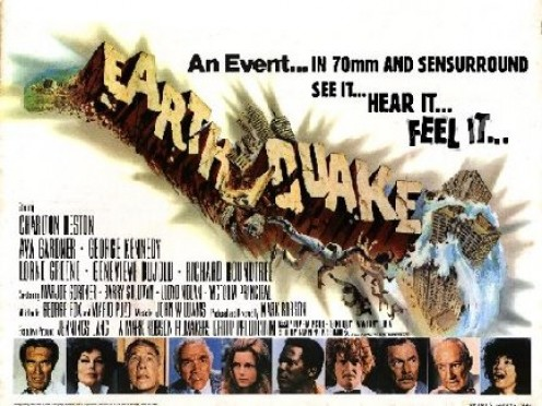 """1974 """"Earthquake"""" Motion Picture"""