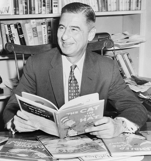 "Theodor Seuss Geisel (aka: ""Dr. Seuss"") March 2, 1904 – September 24, 1991 Author of over 60 Published Books including more than 46 Children's Books."