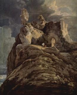 Girtin - Bamburgh Castle