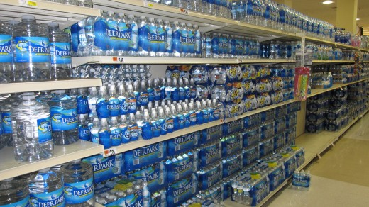 How much money can you save by not buying over-priced water in plastic?