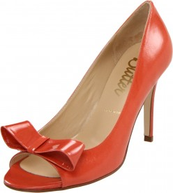 Awesome tangerine colored dress shoes for 2012 spring and summer.  Add a splash of fashionable color to your wardrobe!