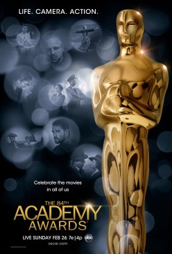 Oscar Predictions of 2012 part 1 of 2