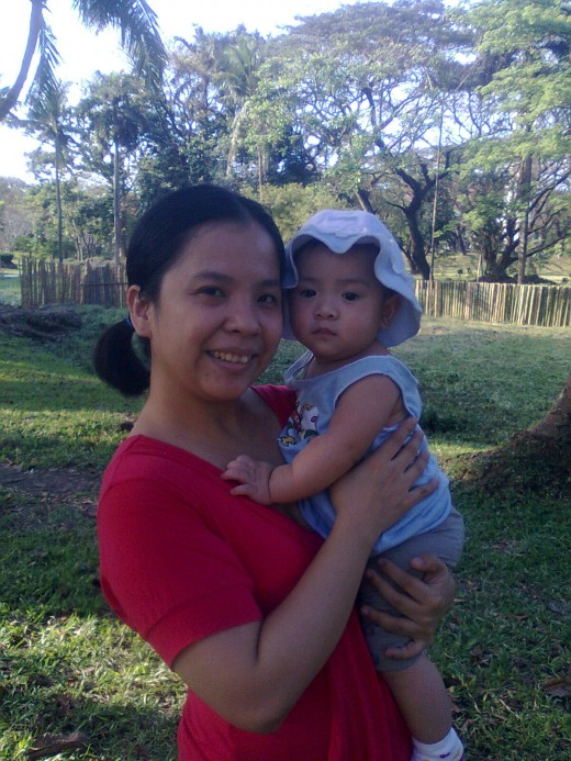 My wife Grace and daughter Yna