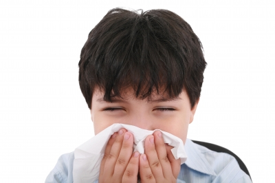 Blowing your nose gently is the easiest way to get rid of a runny nose.