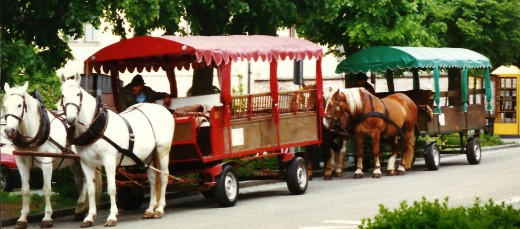 One mode of transportation around Rothenburg