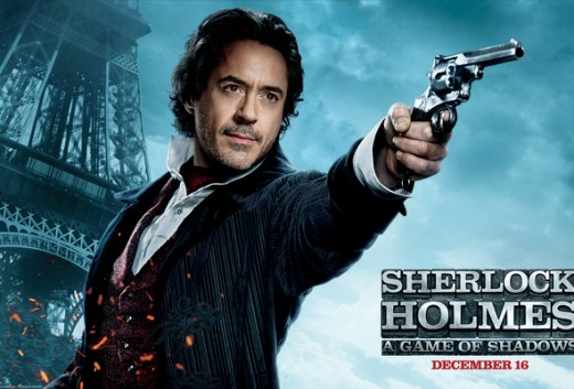 Sherlock Holmes - A Game of Shadows - poster