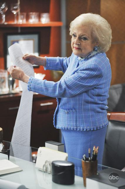 "Even Betty White couldn't save ""Boston Legal"" from cancellation."