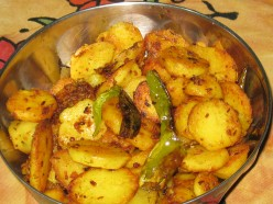 Garlic Fried Potatoes