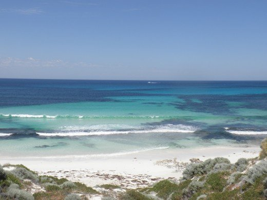 After finishing 'An unsuitable Job for a Woman', I went to my favourite place: Rottnest Island...
