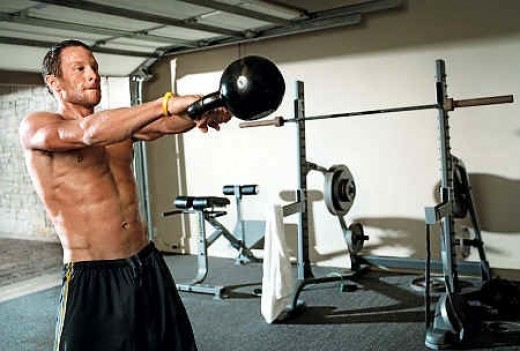 Transform your body at home by building own crossfit gym