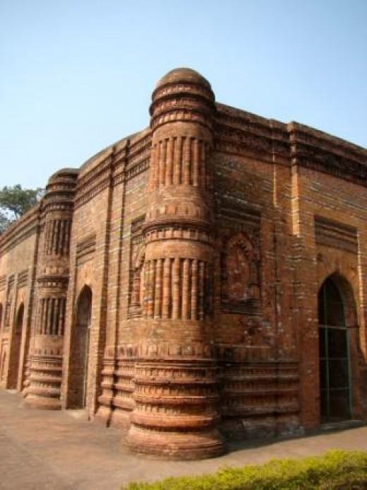 Corner pillar of the mosque