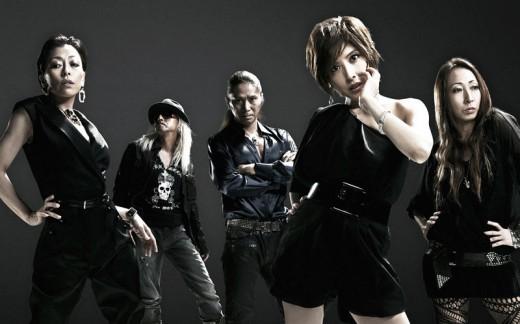 TRF. L-R: ETSU, DJ KOO, SAM, YU-KI, CHIHARU