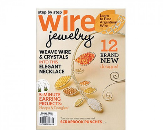 Step by Step Wire Jewelry Magazine.  August - September 2011.  Vol7No4