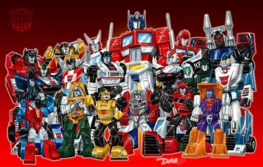 Transformers: A History of the Toys, Movies, and Cartoons ...