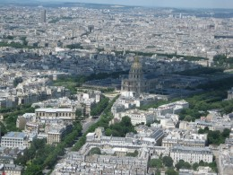 From the top of la Tour Montparnasse