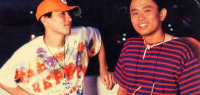 H Jungle with t. L-R: Tetsuya Komuro and Masatoshi Hamada.