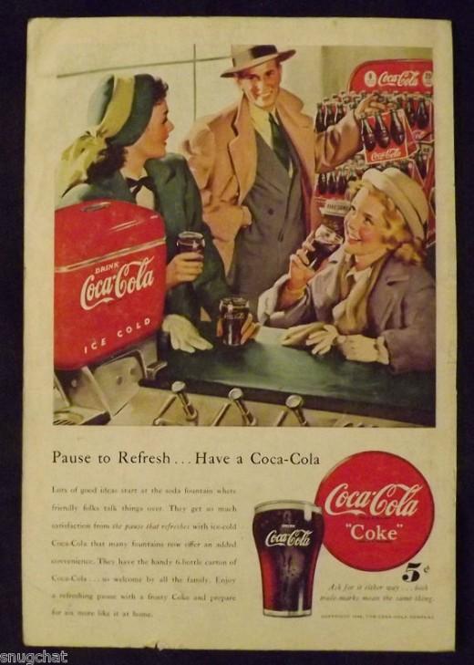 1948 Coca-Cola Ad